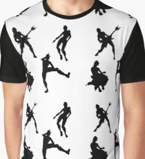 Emotes Grafik T-Shirt