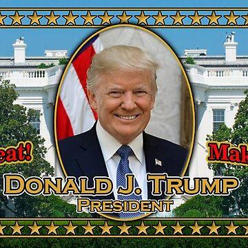 President Trump Mug by thegrafaxspot