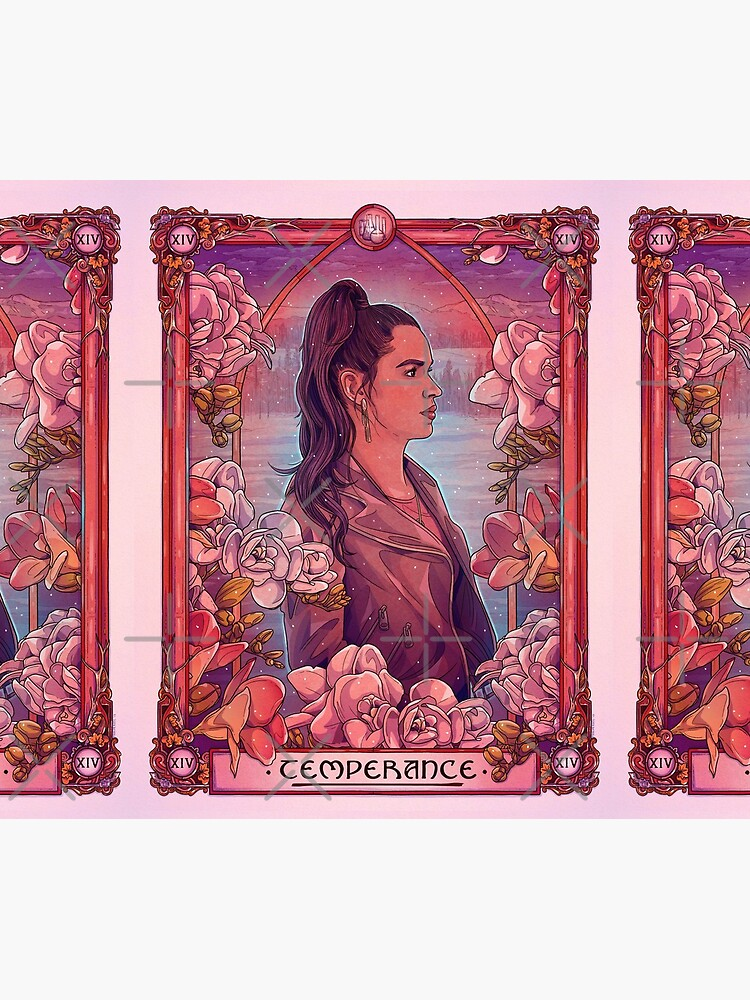 Rosita   Mäßigkeit   Wynonna Earp Tarot von TaylorRoseArt