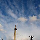 Dancing in Trafalgar Square by Alastair Humphreys