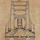 Bridge Construction Patent Blueprint by MadebyDesign