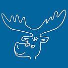 lustiger Elch, Hirsch, Tier, Rentier, Wild, Rudolph von rhnaturestyles