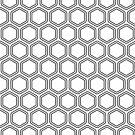 Hexagon Modern Pattern by livejoytoday