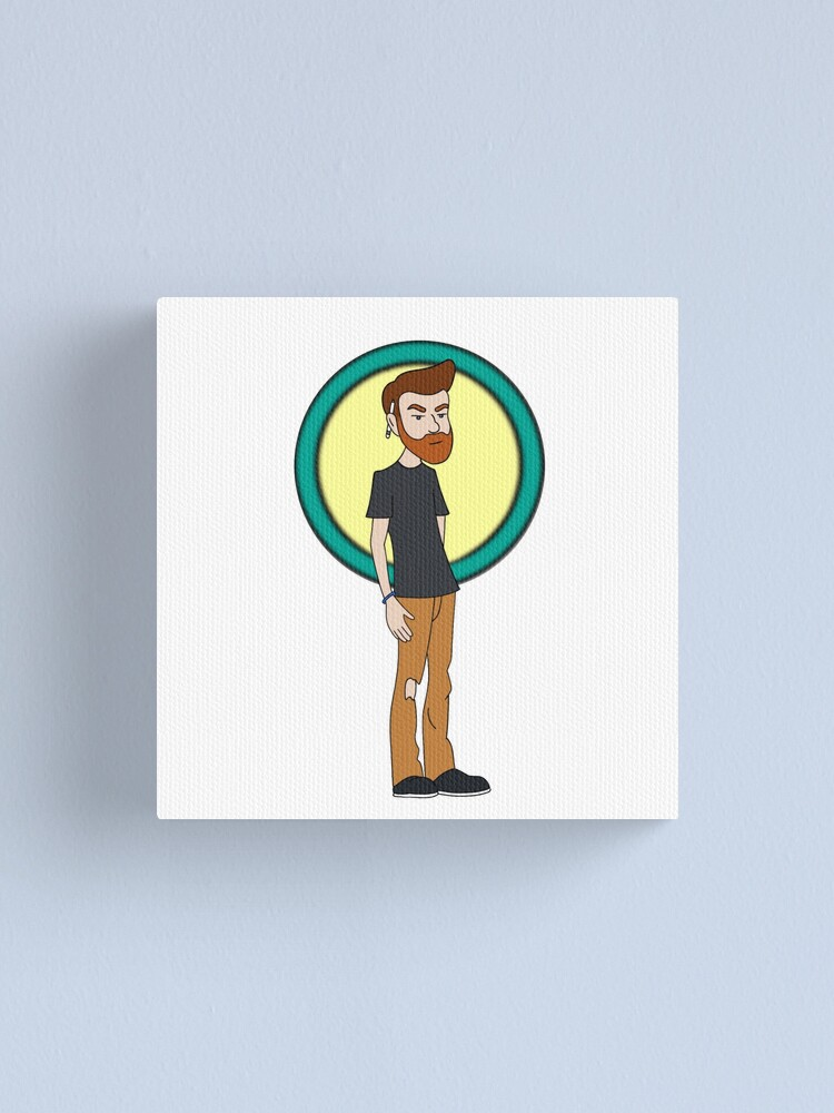 Alternate view of Daria Style! Canvas Print