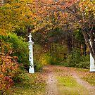 Autumn Entrance to the Garden by Monica M. Scanlan