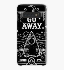Ouija Board Seance Message - GO AWAY Case/Skin for Samsung Galaxy