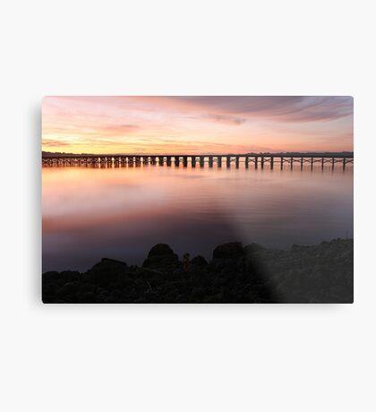 Washington Riverfront At Dawn Metal Print