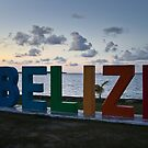 Belize City Sunset #2 by Rachel Jeffrey