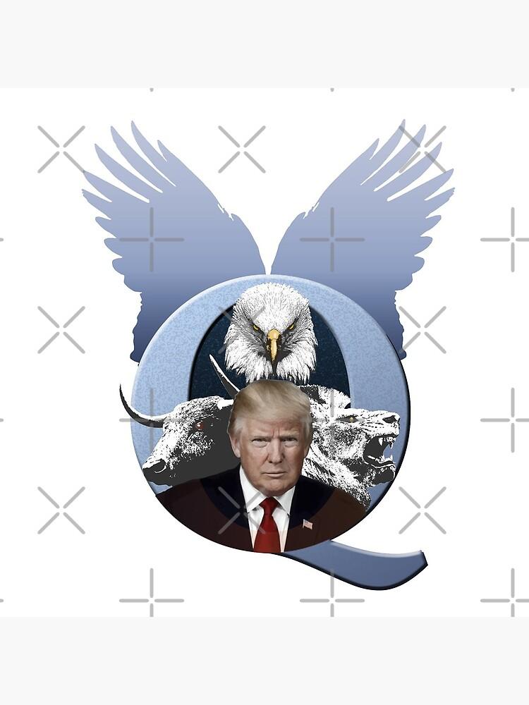 QAnon - Q + Trump Great Awakening WWG1WGA by XtremePacific