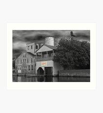 Pamlico Rowing Club Art Print