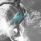 Surfer from Above by JGetsinger