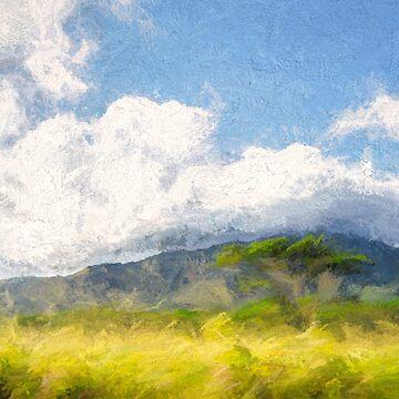Cool Cumulus by linaji