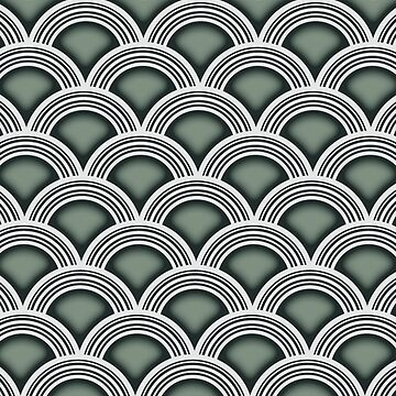 Art Deco Circles by tcarey
