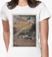 Farm Building Catalog 1923 Women's Fitted T-Shirt