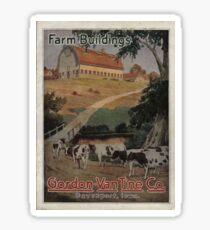 Farm Building Catalog 1923 Sticker