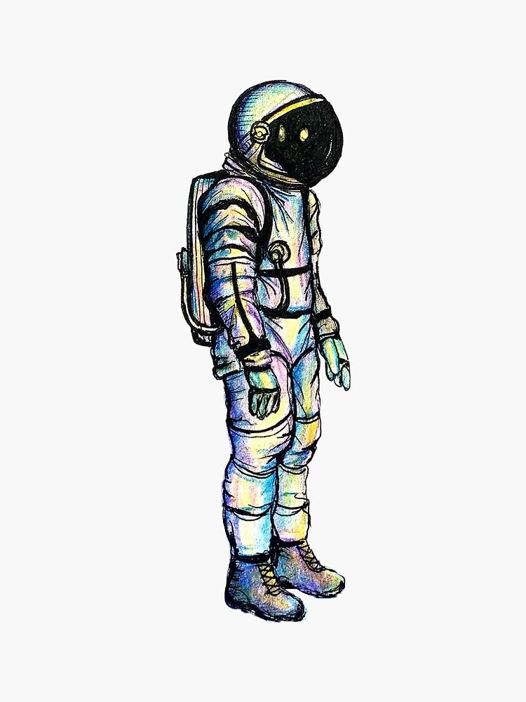 Psychedelic Astronaut by Gloryyount