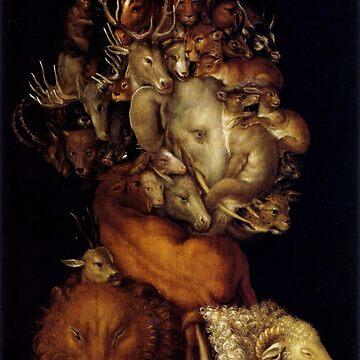 "Giuseppe Arcimboldo ""Four elements - Earth"" by ALD1"