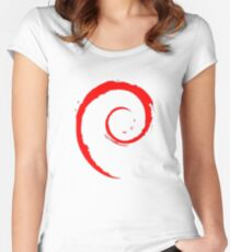 DEBIAN ULTIMATE Women's Fitted Scoop T-Shirt