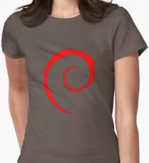 DEBIAN ULTIMATE Women's Fitted T-Shirt
