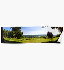 Norbury Park Leatherhead Panoramic Poster