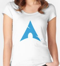 ARCH ULTIMATE Women's Fitted Scoop T-Shirt