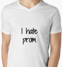 Hate Prom Funny Gift Idea Men's V-Neck T-Shirt