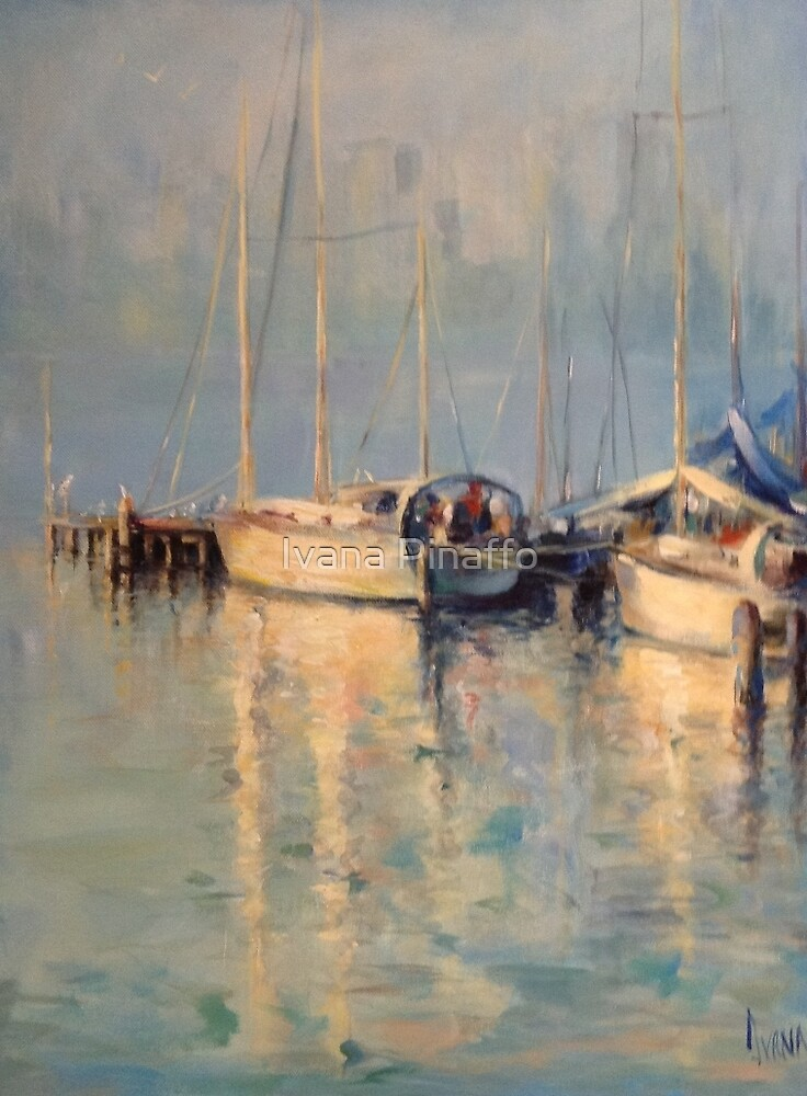 Reflections in Williamstown by Ivana Pinaffo