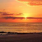 Sunset on the Gulf by Bob Hardy