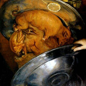 "Giuseppe Arcimboldo ""The cook"" by ALD1"