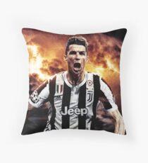Illustration CR7 Design Throw Pillow