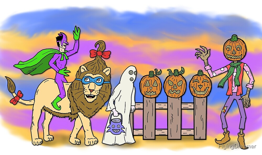 """An OZ Halloween"" by FlyingDreamer"