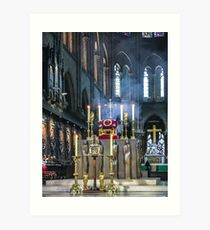 Veneration of the Crown of Thorns Art Print
