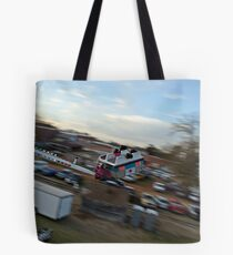 Whew!  What A Ride Tote Bag