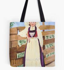 Hardanger Girl Tote Bag