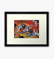 Sleeping Tiger Liley Framed Print