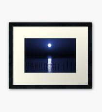 Sun As Moon Framed Print