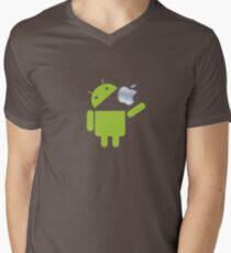 Android Ultimate Men's V-Neck T-Shirt