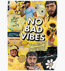bad vibes post -  Poster
