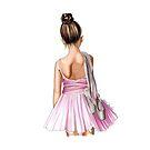 Little Ballerina by Elza Fouche