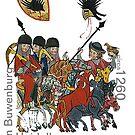 Medieval Minnesang Poet, Ulrich von Buwenburg by edsimoneit