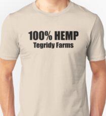 100% HEMP TEGRIDY FARMS PARODY FUN DESIGN FOR RANDY AND HIS FARM FAMILY FOR LIGHT SHIRTS Unisex T-Shirt