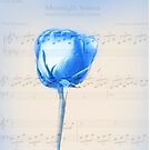 Rose Sonata in Blue by lensbaby