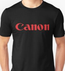 Canon rot Slim Fit T-Shirt