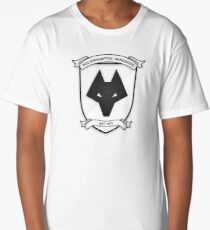 Retro Wolves Badge 1988-1993 Long T-Shirt