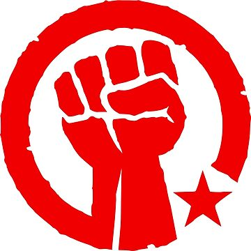 Socialist Raised Fist and Star by NeoFaction