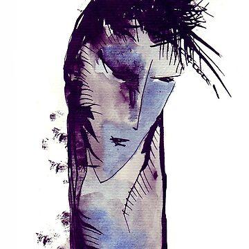 Ink drawing by liga-art