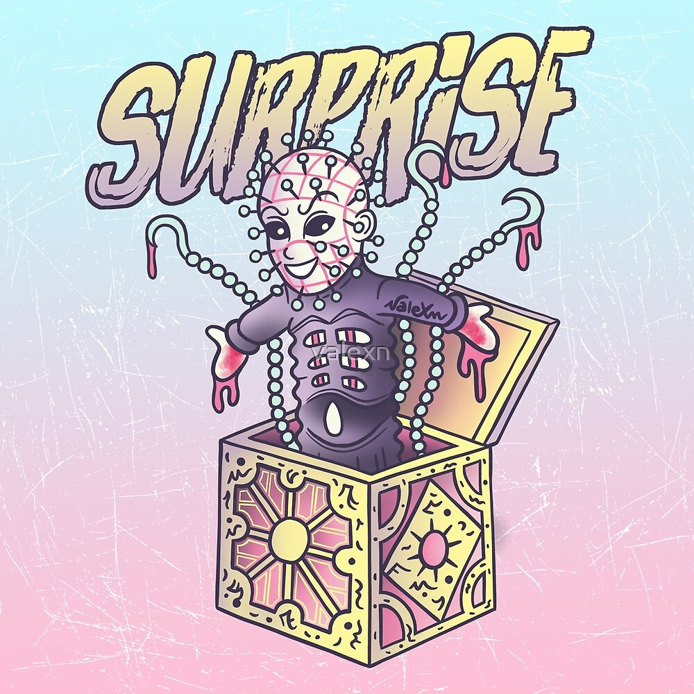 «Pinhead - ¡Sorpresa!» de valexn