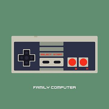 Family Computer by pyxelexia