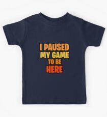 Pause Kids Tee
