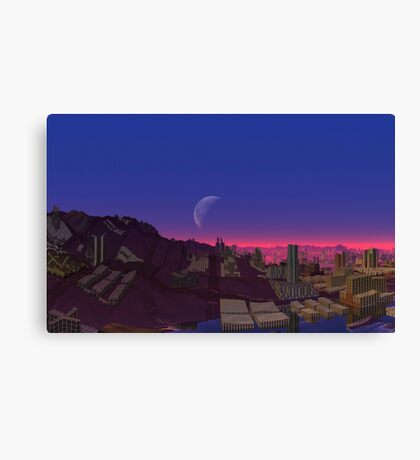 After They Fell Canvas Print